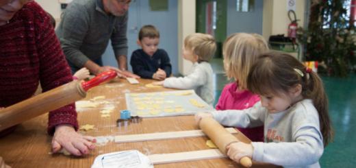 Atelier Bredele avec les élèves de l'école maternelle et primaire de Saulxures